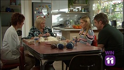 Susan Kennedy, Sheila Canning, Xanthe Canning, Gary Canning in Neighbours Episode 7638