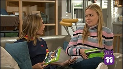 Piper Willis, Xanthe Canning in Neighbours Episode 7638