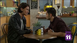 Leo Tanaka, David Tanaka in Neighbours Episode 7638