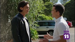 Leo Tanaka, Jack Callaghan in Neighbours Episode 7638
