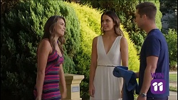 Paige Novak, Elly Conway, Mark Brennan in Neighbours Episode 7638