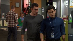 Jack Callaghan, David Tanaka in Neighbours Episode 7639