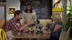 Shane Rebecchi, Dipi Rebecchi, Sheila Canning in Neighbours Episode 7639
