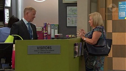 Clive Gibbons, Sheila Canning in Neighbours Episode 7639