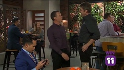 Val Bennet, Paul Robinson, Gary Canning in Neighbours Episode 7641
