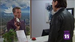 Paul Robinson, Leo Tanaka in Neighbours Episode 7641