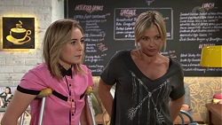 Piper Willis, Steph Scully in Neighbours Episode 7642