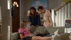 Elly Conway, Susan Kennedy, Piper Willis in Neighbours Episode 7642