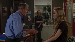 Karl Kennedy, Sonya Mitchell, Willow Bliss in Neighbours Episode 7643