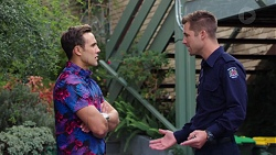 Aaron Brennan, Mark Brennan in Neighbours Episode 7643