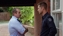 Toadie Rebecchi, Mark Brennan in Neighbours Episode 7643