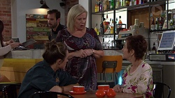 Sonya Mitchell, Sheila Canning, Susan Kennedy in Neighbours Episode 7643