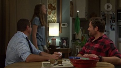 Toadie Rebecchi, Willow Bliss, Shane Rebecchi in Neighbours Episode 7643