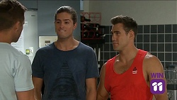 Mark Brennan, Tyler Brennan, Aaron Brennan in Neighbours Episode 7644