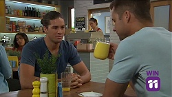 Tyler Brennan, Mark Brennan in Neighbours Episode 7644