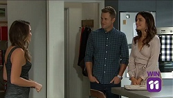 Paige Novak, Mark Brennan, Elly Conway in Neighbours Episode 7644
