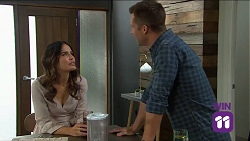 Elly Conway, Mark Brennan in Neighbours Episode 7645