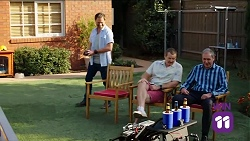 Shane Rebecchi, Toadie Rebecchi, Karl Kennedy in Neighbours Episode 7645