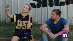 Piper Willis, Tyler Brennan in Neighbours Episode 7645