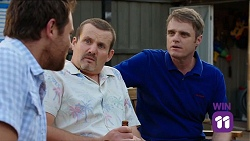 Shane Rebecchi, Toadie Rebecchi, Gary Canning in Neighbours Episode 7645
