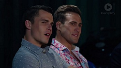 Jack Callaghan, Aaron Brennan in Neighbours Episode 7646