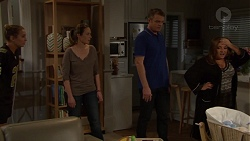 Piper Willis, Sonya Mitchell, Gary Canning, Terese Willis in Neighbours Episode 7646
