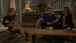 Piper Willis, Gary Canning, Terese Willis in Neighbours Episode 7647