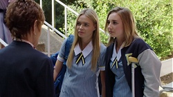 Susan Kennedy, Xanthe Canning, Piper Willis in Neighbours Episode 7647