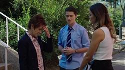 Susan Kennedy, Ben Kirk, Elly Conway in Neighbours Episode 7648