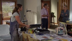 Amy Williams, Toadie Rebecchi, Sonya Mitchell in Neighbours Episode 7648