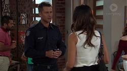 Mark Brennan, Elly Conway in Neighbours Episode 7648