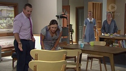 Toadie Rebecchi, Amy Williams, Willow Somers, Sonya Rebecchi in Neighbours Episode 7648