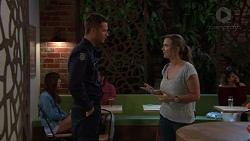 Mark Brennan, Amy Williams in Neighbours Episode 7648