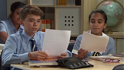 Jimmy Williams, Kirsha Rebecchi in Neighbours Episode 7649