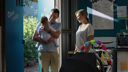 Jack Callaghan, Gabriel Smith, Steph Scully in Neighbours Episode 7649