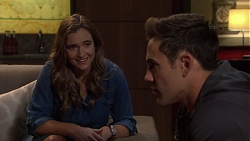 Amy Williams, Aaron Brennan in Neighbours Episode 7650