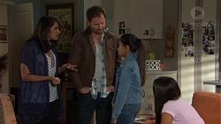 Dipi Rebecchi, Shane Rebecchi, Kirsha Rebecchi, Mishti Sharma in Neighbours Episode 7650