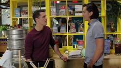 Jack Callaghan, Leo Tanaka in Neighbours Episode 7650