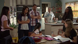 Mishti Sharma, Dipi Rebecchi, Shane Rebecchi, Toadie Rebecchi, Yashvi Rebecchi, Kirsha Rebecchi, Willow Bliss in Neighbours Episode 7651