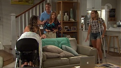 Paige Novak, Gary Canning, Terese Willis, Piper Willis in Neighbours Episode 7651