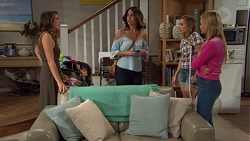 Paige Smith, Elly Conway, Piper Willis, Xanthe Canning in Neighbours Episode 7651