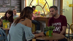 Elly Conway, Wayne Baxter in Neighbours Episode 7651