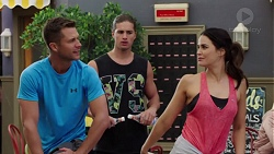 Mark Brennan, Tyler Brennan, Elly Conway in Neighbours Episode 7652