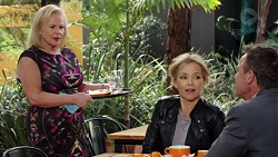 Sheila Canning, Steph Scully, Paul Robinson in Neighbours Episode 7652