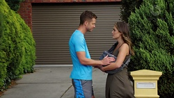 Mark Brennan, Paige Novak in Neighbours Episode 7652