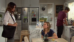 Elly Conway, Piper Willis, Tyler Brennan in Neighbours Episode 7652