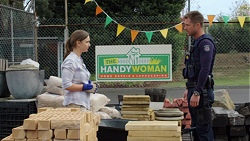 Amy Williams, Mark Brennan in Neighbours Episode 7653