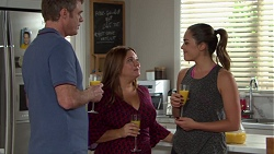 Gary Canning, Terese Willis, Paige Smith in Neighbours Episode 7653