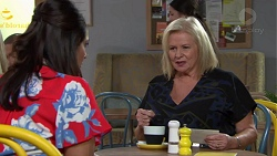 Dipi Rebecchi, Sheila Canning in Neighbours Episode 7653