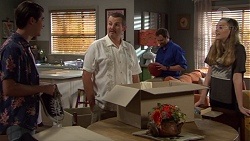 Ben Kirk, Toadie Rebecchi, Shane Rebecchi, Willow Bliss in Neighbours Episode 7654